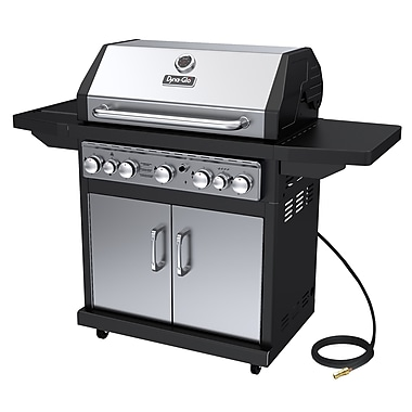 Dyna-Glo 5-Burner Natural Gas Grill w/ Side Burner