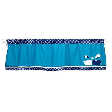 Happy Chic Baby by Jonathan Adler Party Whale 60'' Window Valance