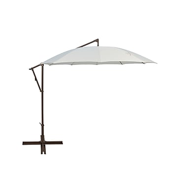 SimplyShade 10' Round Cantilever Umbrella; Natural