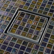 QuARTz by ACO Tile In-Lay 6'' Grid Shower Drain