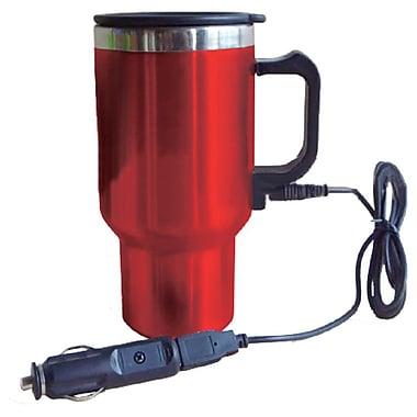Koolaton – Tasse de voyage USB 12V rouge (402425)