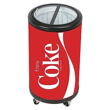 Réfrigérateur de fête CCPC50, forme de cannette de Coke