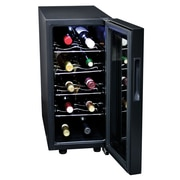Koolatron 10 Bottle Wine Cellar, Touch Control, Black