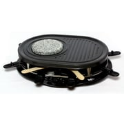 Koolatron 8 person Raclette Grill with 8 Small Pans