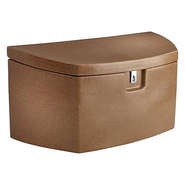 Koolatron Deck Box with Latch, 9.5 cu.ft., Sandstone-look