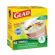Glad – Sacs biodégradables/compostables, petit, p./44