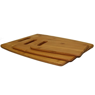 Oceanstar CB1156 Bamboo Cutting Board Set, 3-Piece