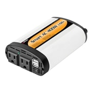 Wagan Smart Continuous Power Inverter with USB Charging Ports, 400W (2003-5)
