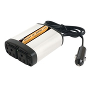 Wagan Smartac 3-Outlet DC to AC Power Inverter, Gray/Black (1/5/2402)