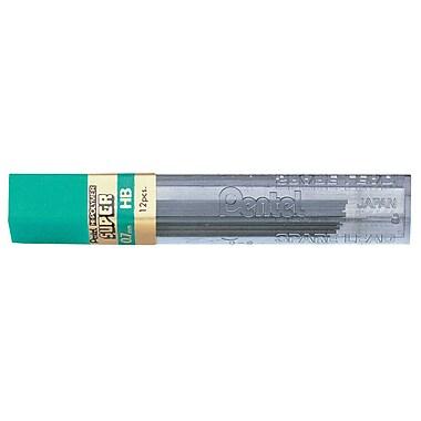 Pentel® – Recharge de mines, 0.7 mm, HB, paquet 2+1