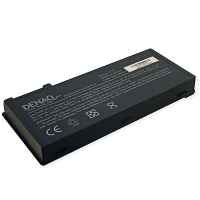 DENAQ 9-Cell 80Whr Li-Ion Laptop Battery for