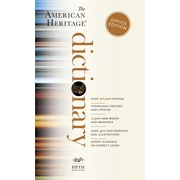 "Houghton Mifflin Harcourt American Heritage Dictionary, 4th Ed, Office Ed., Paperback, 960 Pages, 1 3/5""H x 4 1/5""W x 6 7/8""L"