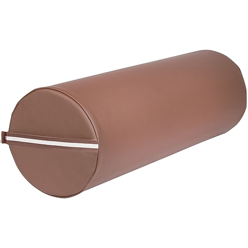 "MT Massage Full Round Massage Bolster; 9"" x 26"", Chocolate (306)"