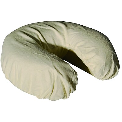MT Massage Fitted Crescent Face Pillow Cradle Cover, White, 4/Pack (862)
