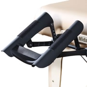 Master Massage Face Cradle for Massage Table, Black (12794)