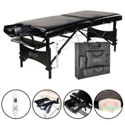 "Master Massage Therma-Top Table; 30"", Black (20244)"