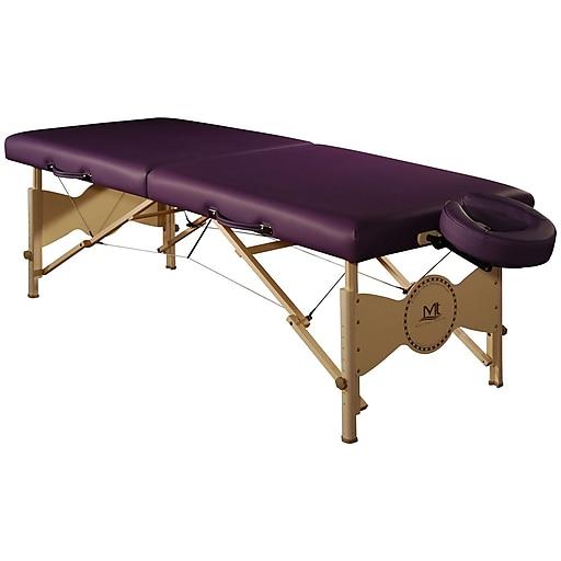 """MT Massage Midas Table Package; 30"""", Purple (22502)"""