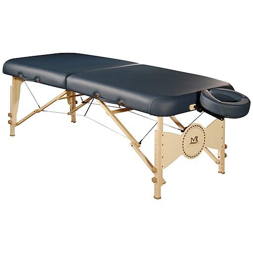 "MT Massage Midas-Plus Massage Table Package; 30"", Agate Blue (22701)"