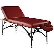 """MT Massage Violet-Tilt Massage Table Package; 29"""", Burgundy (23064)"""