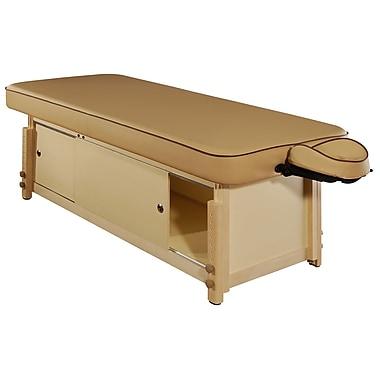 MT Massage Executive Comfort Stationary Massage Table, Beige (23093)