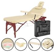 "Master Massage Salon Massage Table, 31"", Cream (26736)"