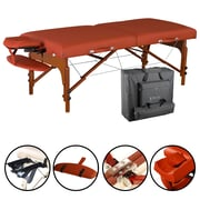 "Master Massage Portable Massage Table; 31"", Mountain Red (28281)"