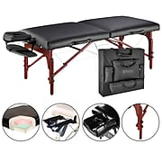 "Master Massage Portable Massage Table; 31"", Black (28285)"