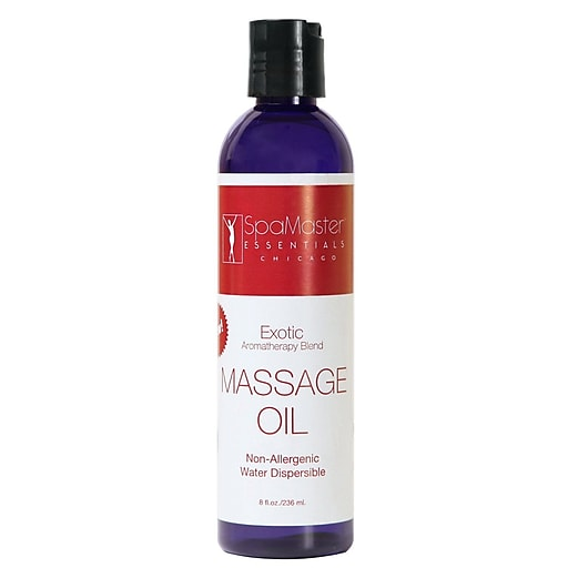 Master Massage Exotic Blend Aroma Therapy Oil; 8 oz. (30560)