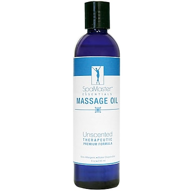 Master Massage Unscented Massage Oil, 8 oz. (30700)