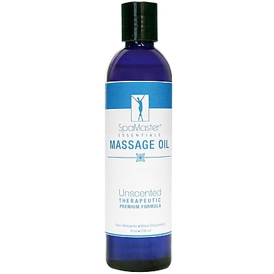Master Massage Unscented Massage Oil; 8 oz. (30700)