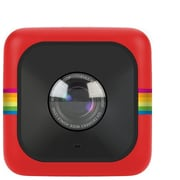 Polaroid Cube+ POLCP 8MP Mini Lifestyle Action Video Cameras, Red