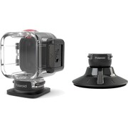 Polaroid Plastic/Rubber Suction Cup Mount for Cube HD Action Lifestyle Camera, Black