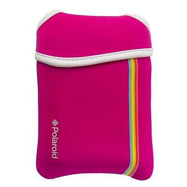 Polaroid Neoprene Pouchs For The Polaroid ZIP Mobile Printer, Pink