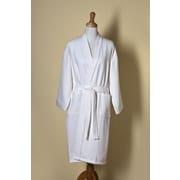 Jacaranda Living Willow Weave Kimono Style Bath Robe; Large