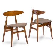 Wholesale Interiors Baxton Studio Flamingo Side Chair (Set of 2)