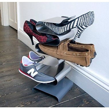 j-me Original Design Nest Freestanding 6-Tier 7 Pair Shoe Rack