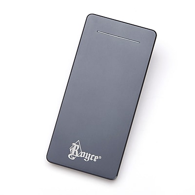 Royce Leather Travel Power Bank Dual-Port External Battery Portable Charger (5010-MT-0)