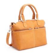 Royce Leather Lightweight Duffel Bag, Colombian Leather, Tan (636-TAN-VL)