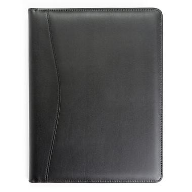 Royce Black Genuine Leather Writing Padfolio Document