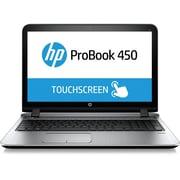"""HP ProBook 450 G3, 15.6"""" HD Display, Intel Core i5 6200U, 128GB SSD, 8GB RAM, Windows 10 Pro, Black"""