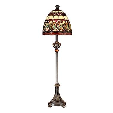 Dale Tiffany Buffet Aldridge 30'' Floor Lamp