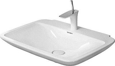 Duravit PuraVida Ceramic 28'' Wall Mount Bathroom Sink