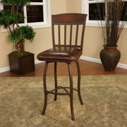 American Heritage Lancaster 24'' Swivel Bar Stool