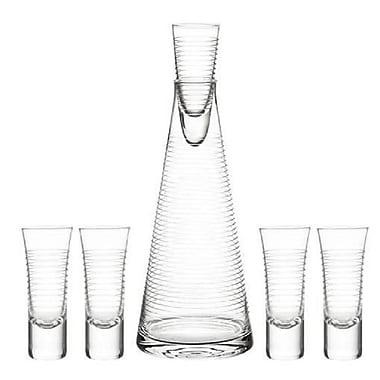 Qualia Glass Pacifica 6 Piece Vodka Set