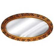 Hickory Manor House Serpentine Oval Mirror; Baroque
