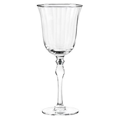 Qualia Glass Salem 8 Oz. Wine Goblet (Set of 4); Platinum