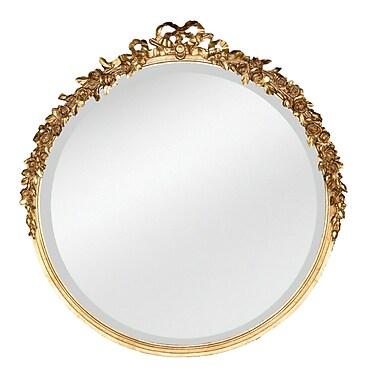 Hickory Manor House Round Rose Mirror; Etineene Gold