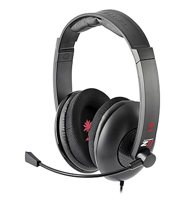 Turtle Beach Ear Force Z11 Amplified Gaming Headset, Red