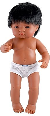 Miniland Educational Hispanic Baby Doll Boy