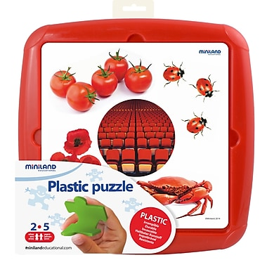 Miniland Educational Puzzle Red